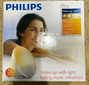 Philips Wake-Up Light Alarm Clock with Sunrise & Sunset Simulation + Night Light