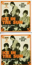 CD Single STATUS QUO	Ice In The Sun | replica 2-track CARD SLEEVE	CDSINGLE