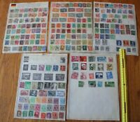 A17 Lot of Germany Stamps on Minkus binder Pages