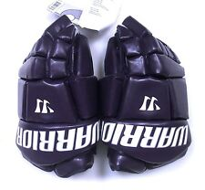 "New Warrior Fatboy box lacrosse goalie gloves 14"" purple Lax indoor senior goal"