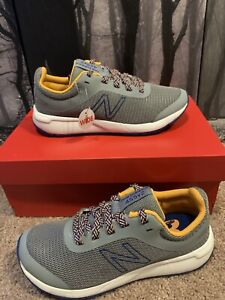 New Balance 455 Little Kids Shoes NWB Boys 13.5 W Blue Grey Check Description!