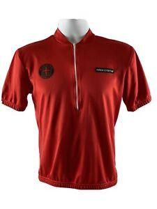 Giordana Mens Bike Jersey Cherry Red Sz Small Gettysburg Fitness Logo