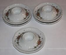 Eschenbach La Pura Con Guirnalda de flores 5 Huevera con bandeja, DM 13 cm