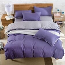 New Double Color Warm Thick Bedding Set Quilt Cover+Sheet+Pillow Case Four-Piece