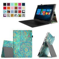 For Microsoft Surface Pro 3 12-inch Tablet Folio Leather Stand Case Slim Cover