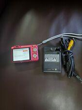 Sony Cyber-shot DSC-W150 8.1MP Digital Camera - Cranberry - & NP-FG1 Battery