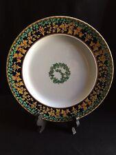 Versace Rosenthal Gold Ivy Dinner Plate