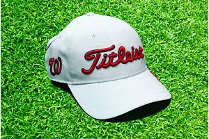Titleist Washington Nationals Adjustable Baseball Hat One Size White Nats 47 MLB