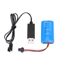 Upgrade 7.4V 500mAh Rechargeable Li-Po Battery Charger For RC WPL Crawler Car