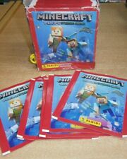 More details for panini minecraft treasure stickers collection: 10 25 50 packs or sealed box