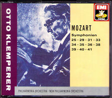 Otto KLEMPERER: MOZART Symphony No.25 29 31 33 34 35 36 38 39 40 41 Jupiter 4CD