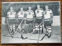 1991-92 Boston Bruins Defense Sports Action Legends - Sawchuk Boivin +++