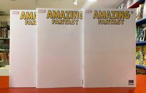 Amazing Fantasy 15 Spider-Man Turkish Blank Sketch Exclusive Variant