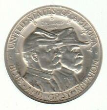 1936 Gettysburg AU Commemorative US Half Dollar 50C