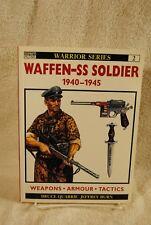 Osprey Warrior Series 2 - Waffen SS Soldier 1940-1945 Hitler SS WWII BOOK 1993