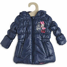 DISNEY BABY doudoune 6 mois manteau blouson MINNIE bleu marine NEUVE
