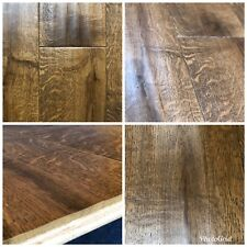 OAK ANTIQUE HAND CARVED LACQUERED. ENGINEERED WOOD FLOORING 189/20/6mm Top ✅✅✅