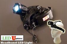 LEDupdates Headband headLight Helmet head lamp LED flashlight with head strap