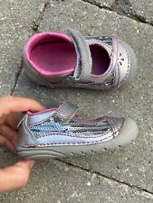 $52 Stride Rite Dream shoes mary janes baby girl sz 4 4M Med worn1week