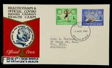 1968 Mexico City Olympics New Zealand Cover - Childrens Health Camps