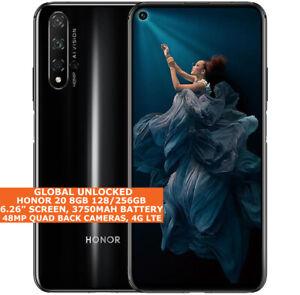 "HONOR 20 8gb 128/256gb Octa-Core 6.26"" Fingerprint Dual Sim Android 10 NFC LTE"