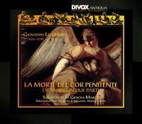 I SONATORI DE LA GIOIOSA MARCA - LEGRENZI: LA MORTE DEL COR PENITENTE   CD NEW