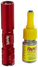 RapidFix UV Liquid Plastic Adhesive Starter Kit UV FlashLight Set Glue Bond