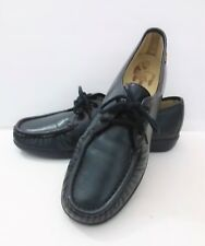 693c89a5673 SAS Comfort Shoes Siesta Navy 12 N EUC Women Leather Lace up w  Box Made