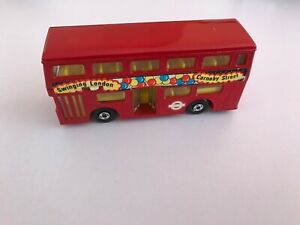 matchbox the londoner red bus 1972
