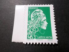 FRANCE 2018 timbre de carnet neuf** MARIANNE ENGAGEE AUTOADHESIFS VERT MNH STAMP