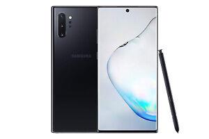 New Samsung Galaxy Note 10 Plus 5G Aura Black SM-N976B 256GB Sim Free UK