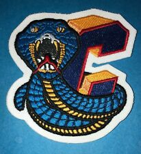 Rare Vintage Columbus Cottonmouths ECHL SPHL Hockey Jersey Shoulder Patch Crest
