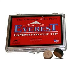 Tiger Everest Pool Cue Tip 14mm Laminated (3 Tips) w/ FREE Shipping