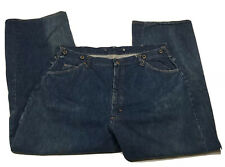 Vintage Big Mac Jeans 38x28 (Measured) Denim Workwear Talon Zipper