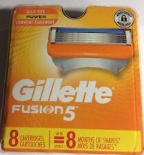 GILLETTE FUSION RAZOR BLADES,8 PACK