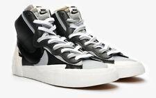 Nike x Sacai Blazer Mid Black, Wolf Grey & White UK 12 Trainers Shoes