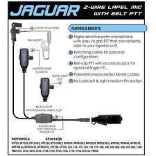 JAGUAR Quick Release Earpiece for Motorola SABER 1 2 3 I II III / ASTRO Radios