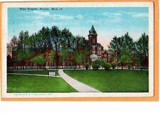 Pontiac MI Postcard - State Hospital - Eastern Michigan Asylum for the Insane