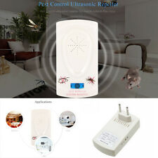 Ultrasonic Electronic Plug Rat Mosquito Mouse Spider Insect Pest Repeller device