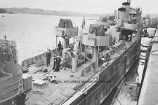 THE RAID ON ST NAZAIRE ON 28th MARCH 1942 - HMS CAMPBELTOWN - ROYAL NAVY