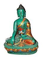 Healing Buddha Figure Tibetan Buddhist Medicine Buddha Statue Sculpture SBM020