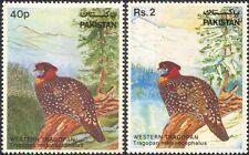 Pakistan 1981 Western Tragopan/Birds/Wildlife/Nature Protection 2v set (b2282)