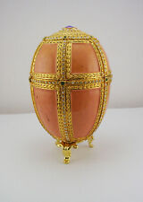 Faberge Pink Danish Egg (comes with generic stand Not The Original Stand)