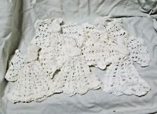 Hand Crocheted Christmas Angels - Lot of 5
