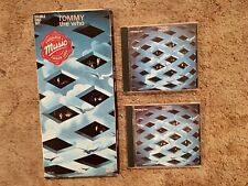 The Who Tommy Cd With Long Box Mca Records 1984