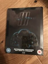 THE EXPENDABLES 3 EXTENDED BLU-RAY ZAVVI STEELBOOK NEW & SEALED