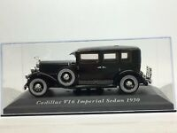 Cadillac V16 Imperial Sedan 1930 1/43 Scale Black BNIB FREE SHIPPING
