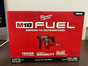 """Milwaukee 2712-20 M18 FUEL 1"""" SDS Plus Rotary Hammer (Tool Only)"""