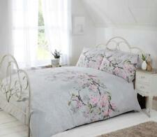 """Eloise"",Grey, Birds Double Duvet Set, ""Made with Love"" by Rapport"