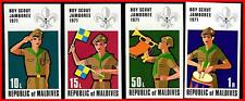 👉🏻 MALDIVE IS 1972 BOY SCOUTS / MUSIC imperforated  MNH CV$10.20 for perf.